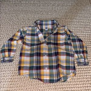 Other - Janie and Jack plaid shirt